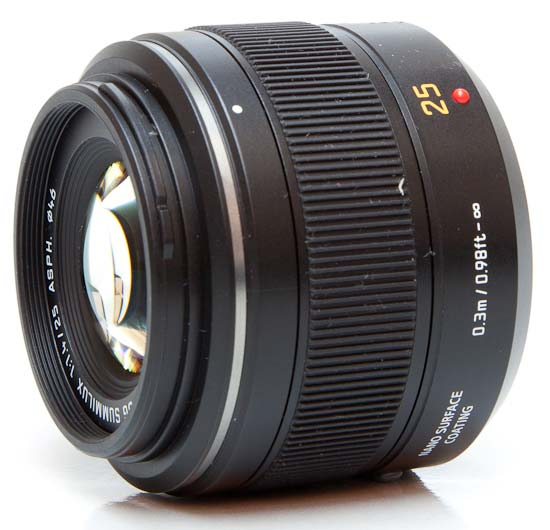 Panasonic Leica DG Summilux 25mm f/1.4 ASPH