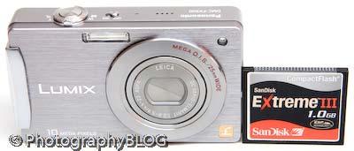 Panasonic Lumix DMC-FX500