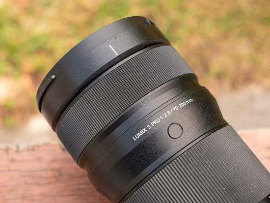 Panasonic Lumix S PRO 70-200mm f/2.8 O.I.S.