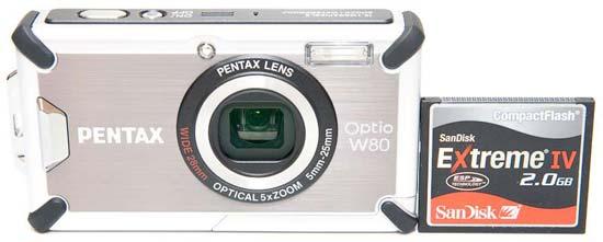Pentax Optio W80
