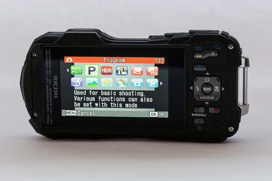 Pentax WG-30 Wi-fi