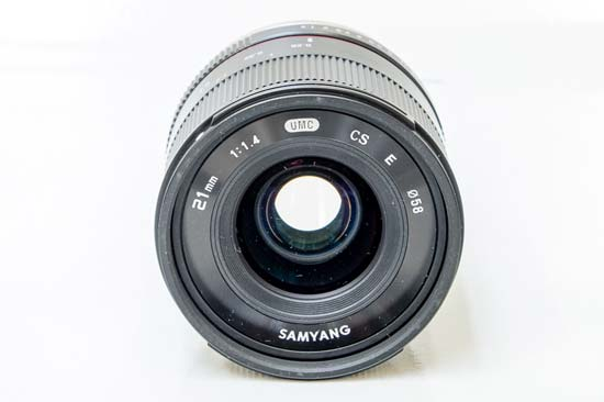 Samyang 21mm f/1.4 ED AS UMC