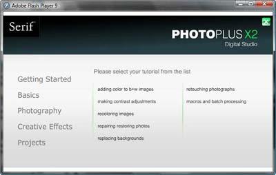 Serif PhotoPlus X2
