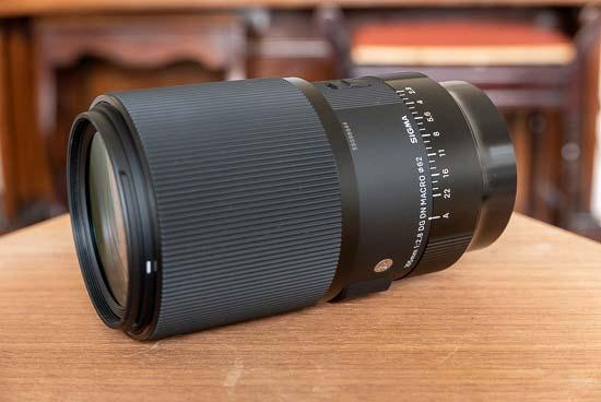 Sigma 105mm F2.8 DG DN MACRO Art
