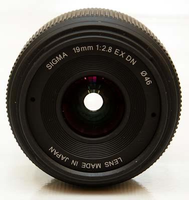 Sigma 19mm f/2.8 EX DN