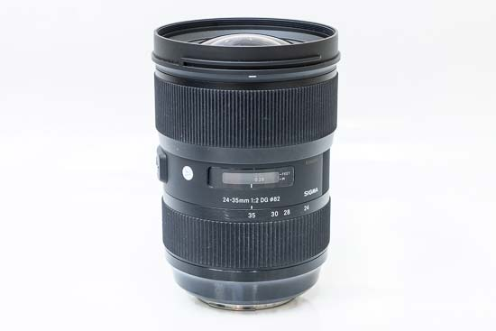 Sigma 24-35mm f/2 DG HSM Art