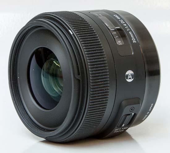 Sigma 30mm F1.4 DC A