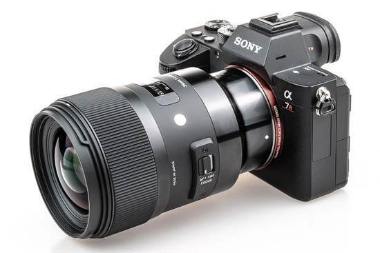 Sigma 35mm F1.4 DG HSM for Sony E-Mount