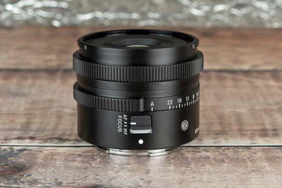 Sigma 45mm F2.8 DG DN
