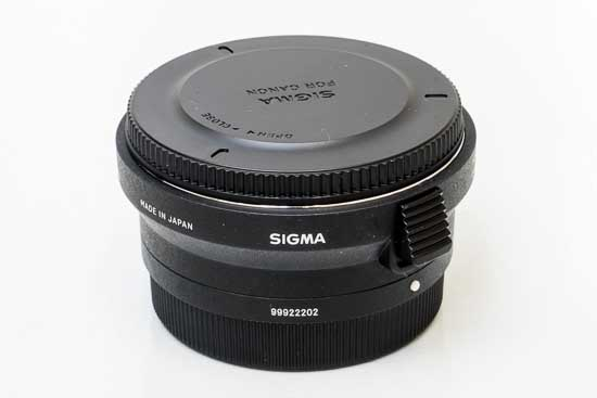 Sigma MC-11 Canon Mount EF Adapter