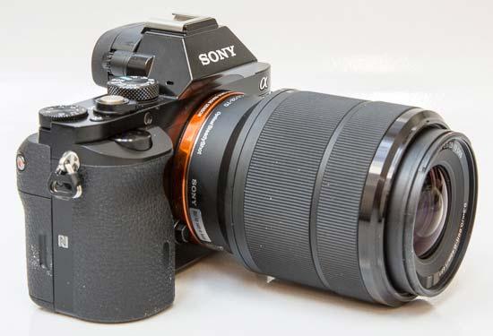 Carl Zeiss Sonnar T* FE 55mm F1.8 ZA