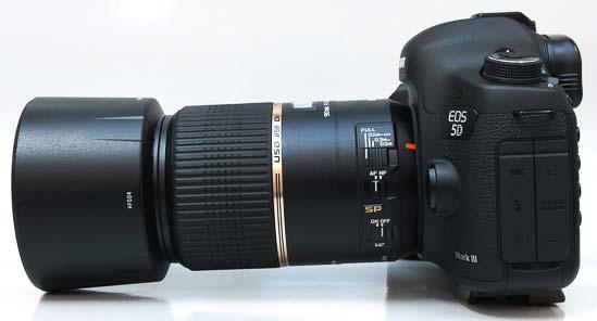 Tamron SP 90mm F/2.8 Di MACRO 1:1 VC USD